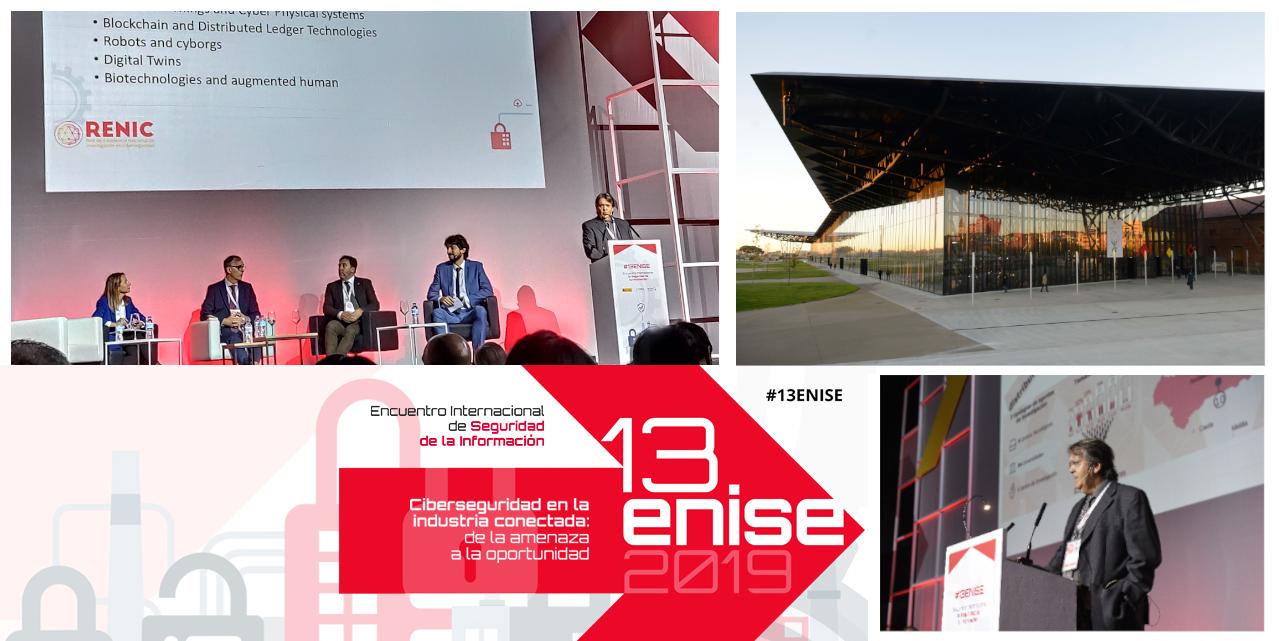 RENIC participa en 13ENISE en un Panel de Cooperación Europea