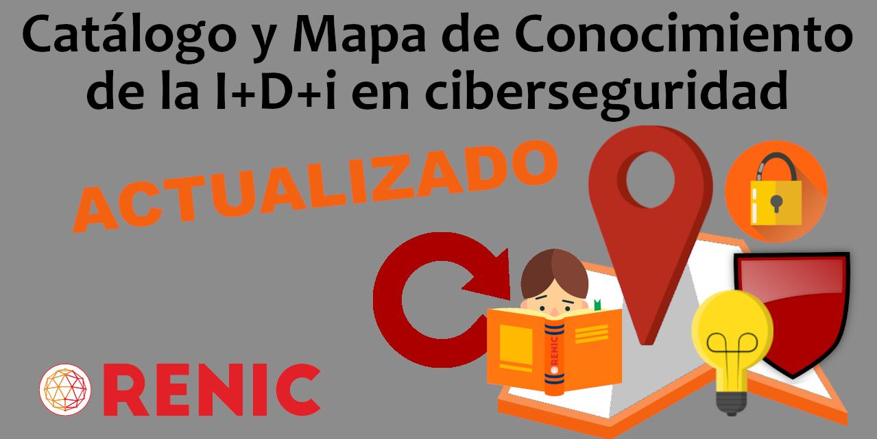 Actualización Catálogo y Mapa de Conocimiento de la I+D+i en ciberseguridad