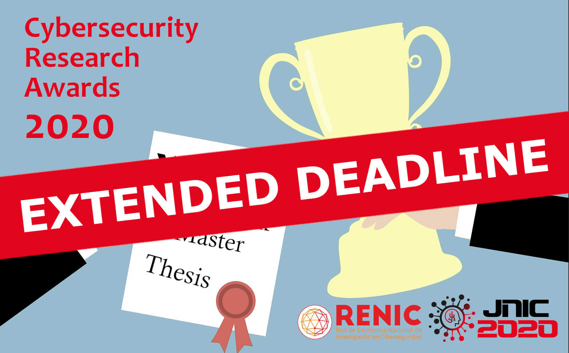 Deadline extended for Cybersecurity Research Awards 2020